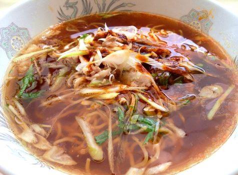 今日の社食は葱チャーシュー麺。430円。