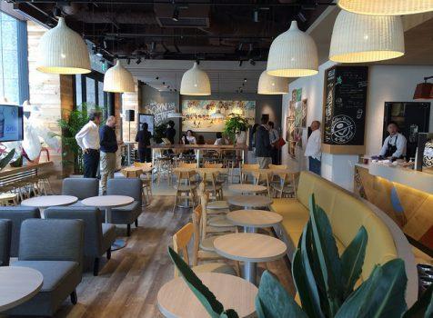 【Hello Japan】意外にも日本初上陸!「The Coffee Bean & Tea Leaf(コーヒービーン&ティーリーフ)日本橋一丁目店」のレセプションにいってきた!