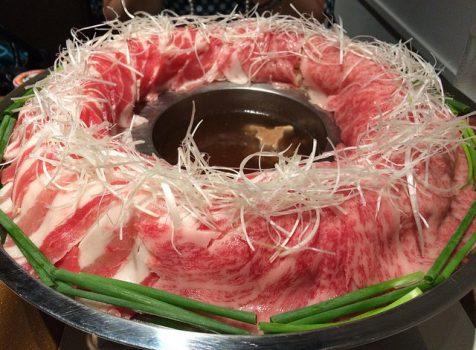 博多第3の鍋?!牛テールスープでいただく「博多炊き肉鍋」は夏でもさっぱりと美味しくいただけます!@金蔦 六本木(KINTSUTA)
