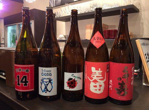 2015 第三回日本酒の会「三井の寿の会」にいってきました!@人形町 田酔 六本木ヒルズ分店