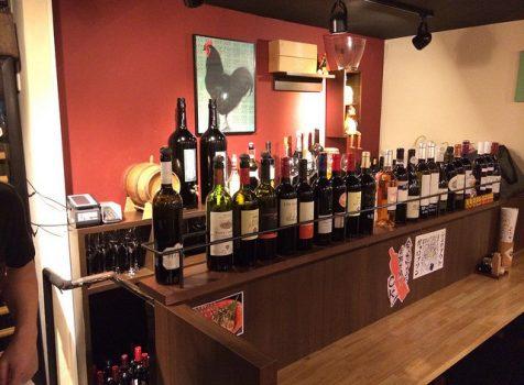 カウンター席は飲ん兵衛のための秘密の空間。お任せ料理とワインのペアリングが楽しい!@Gallo 四谷(ガッロ)/四谷三丁目