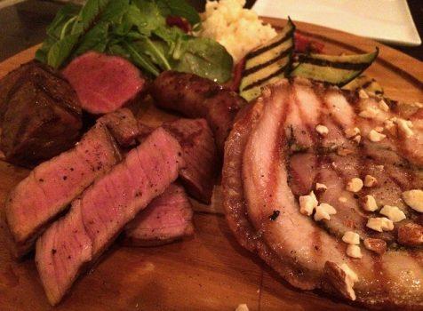 肉&イタリア郷土料理が楽しめる、カジュアルイタリアン。@オステリア カステリーナ(中目黒)