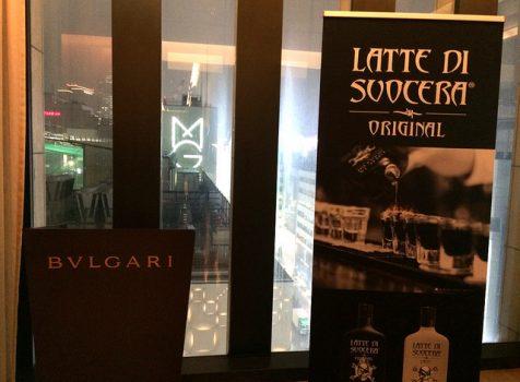 ZANIN 社 Latte di Suocera(ラッテディソーチェラ)のレセプションにいってきた。@BVLGARI プライベートダイニングルーム