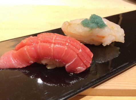やっぱり鮨はわがままがいえるカウンターで!お手頃価格で日本酒と旬な魚たちが楽しめます。@魚こう鮨 西荻窪店