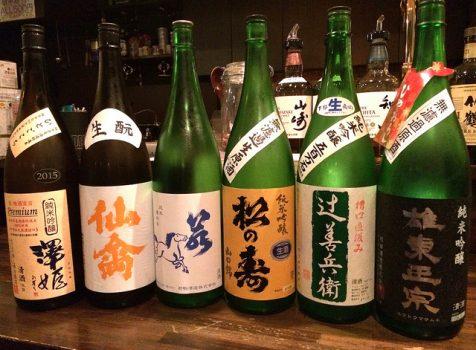 栃木の地酒が充実!おもわず途中下車したくなる地域密着の居酒屋さん。@デンゾウ・バー(つつじヶ丘)