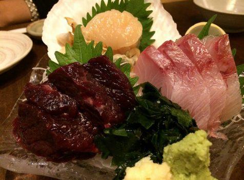 クジラの刺身はマスト!日本酒と酒の肴にぐっとくる駅近の居酒屋さん。@和み家 魚えん(神田)