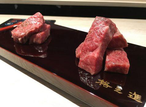 いつもお世話になっている美容院の2Fに熟成肉の「格之進」がやってきた!@格之進Rt 富ヶ谷