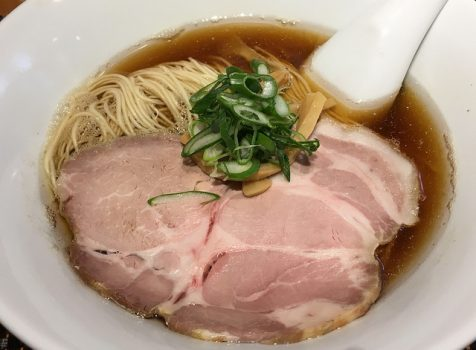 細麺に上品なスープ。私好みのラーメンが500円でいただけるのが嬉しい!@柴崎亭/つつじヶ丘