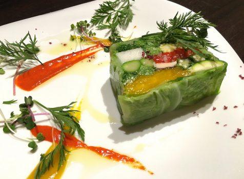 【再訪】肉押しから野菜や魚介を使ったお料理が増え、華やかにバージョンアップ!@オステリア カステリーナ(中目黒)