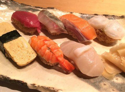 赤酢シャリな握りが印象的。実は教えたくないビル地下の小さなお寿司屋さん。@鮨 おが和(新宿三丁目)