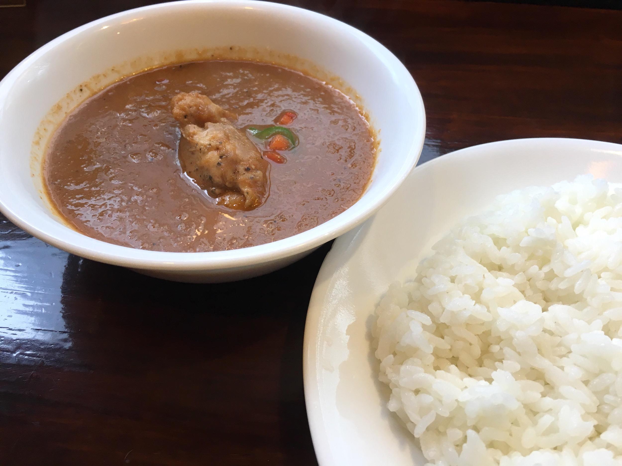 爽やかなるスパイス!辛いけど美味いこだわりのカレー。@curry 草枕(新宿御苑)