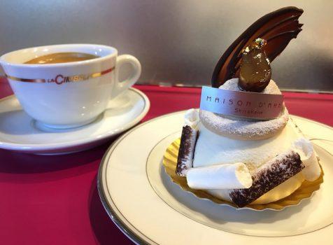 焼き菓子はもちろん、ケーキやクロワッサンもかなり美味しい!@メゾン・ダーニ(白金高輪)