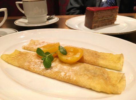 夜のカフェ使いや食事も穴場!ウィーンカフェでゆったりと。@カフェラントマン 青山店(表参道)