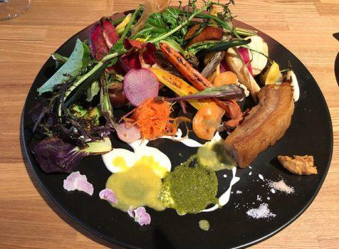 野菜たっぷり!オーガニックなサラダランチ。@Offf (オフ)代々木上原