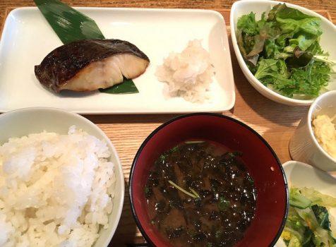 和食が食べたいときにおすすめ。中目黒風オシャレ定食ランチ。@煮炊屋 金菜(中目黒)