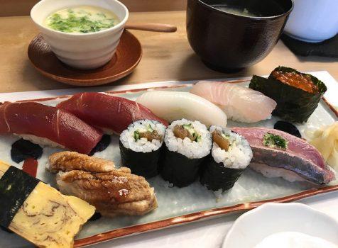 住宅街にあるお寿司やさん。ランチはコスパもよく穴場かも!@鮨おさ内(池尻大橋)