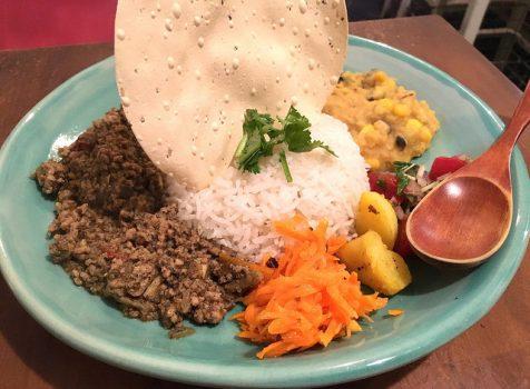 デトックスカレーに癒される。重ね煮みそ汁もおすすめ!@Curry & Spice 青い鳥(幡ヶ谷)