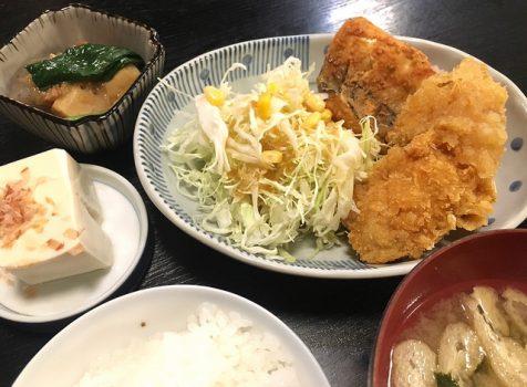 【代々木上原】魚目(ぎょもく)@魚が美味しい居酒屋のコスパ抜群のランチ。