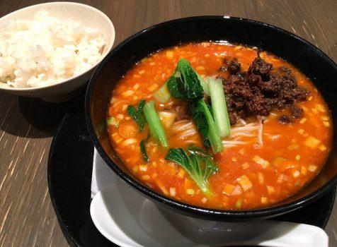 【代々木上原】虞妃(Yui Fei)@ランチで坦々麺セットをいただきました。