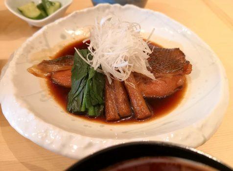 【白金】旬彩和房 はっけい@穴子料理が楽しめる和食屋さん。ランチは穴子ご飯に煮魚、そしてわらび餅。