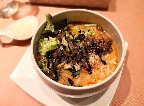【恵比寿】蔭山樓@ヘーゼルナッツ風味の担々麺。