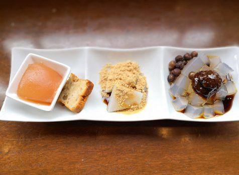 【広尾】船橋屋こよみ@老舗和菓子屋さんの和カフェでランチ。