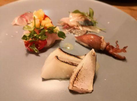 【代々木上原】アトリエフジタ@2年ぶりの再訪!ナチュラルな魚介料理とお酒のセンスがステキ!