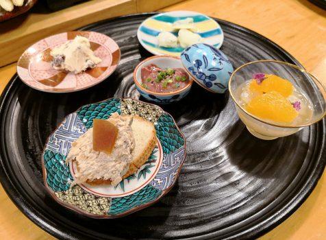 【清澄白河】ほ志の@元お寿司屋さんで楽しむお手頃フレンチ割烹。食材の組み合わせが面白いおしゃれ料理。
