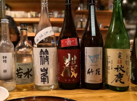 【高津】潟潟ヤ@一期一会のオリジナル創作料理と常温日本酒のマリアージュ