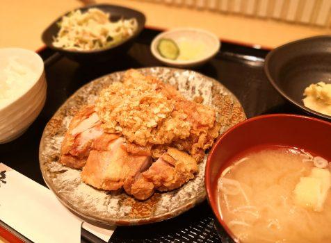 【恵比寿】とりなご@油淋鶏はご飯が進む味!ご飯は食べられる量を申請しましょう。