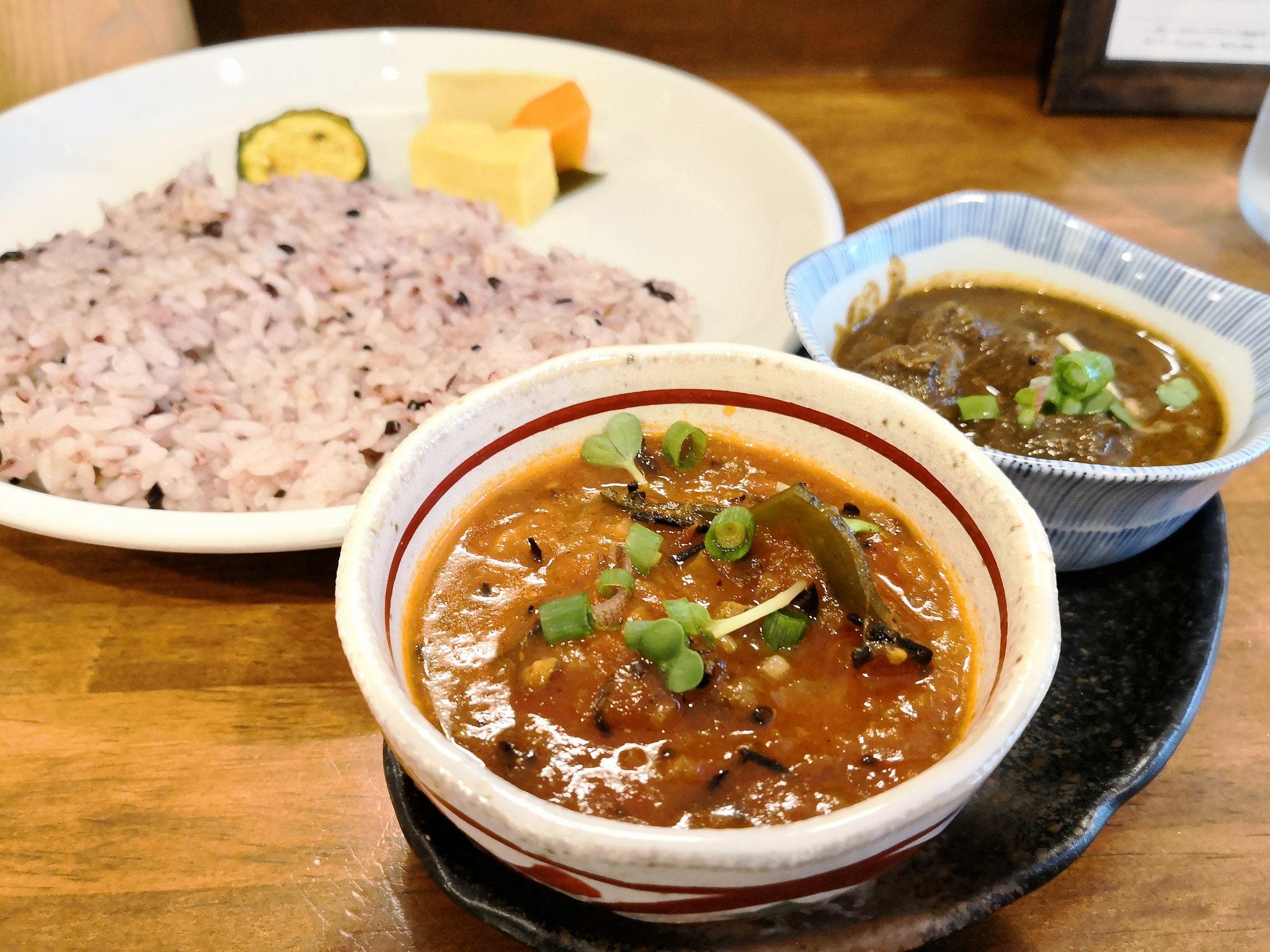 【初台】和魂印才たんどーる@お惣菜のような和テイストの優しいカレー。