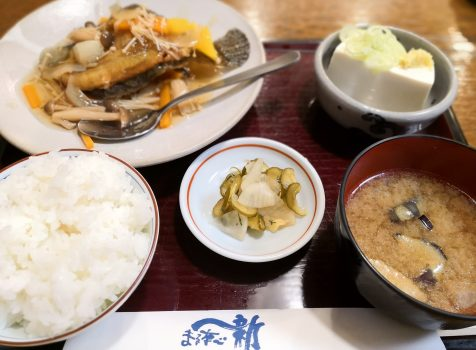 【代々木上原】まるなべ一新@昔ながらの和食屋さん。地元常連さんが多いホッとするランチ。