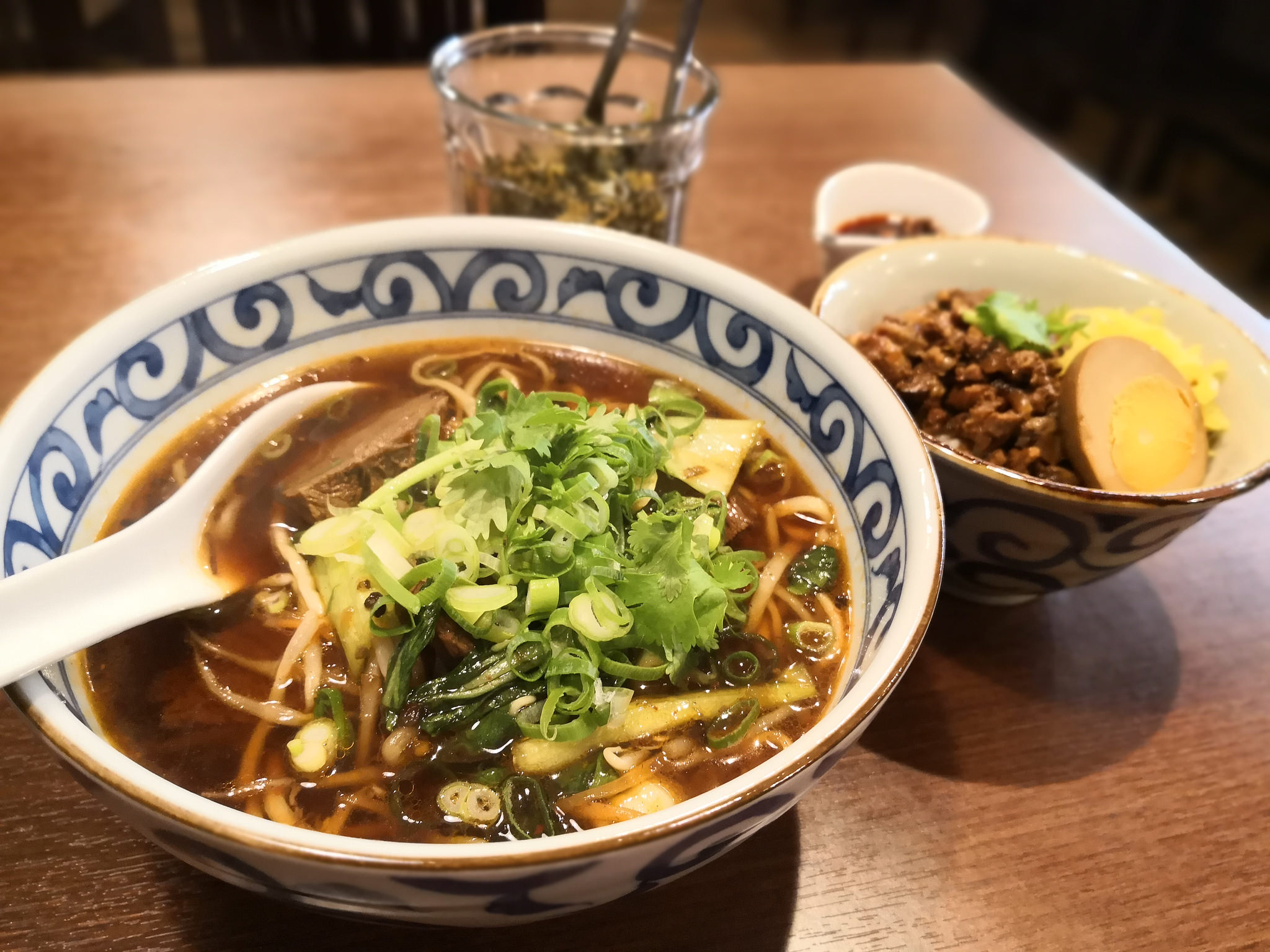【幡ヶ谷】台湾牛肉麺店Fan@魯肉飯は意外と美味しい。麺はもう一工夫あるといいかな。