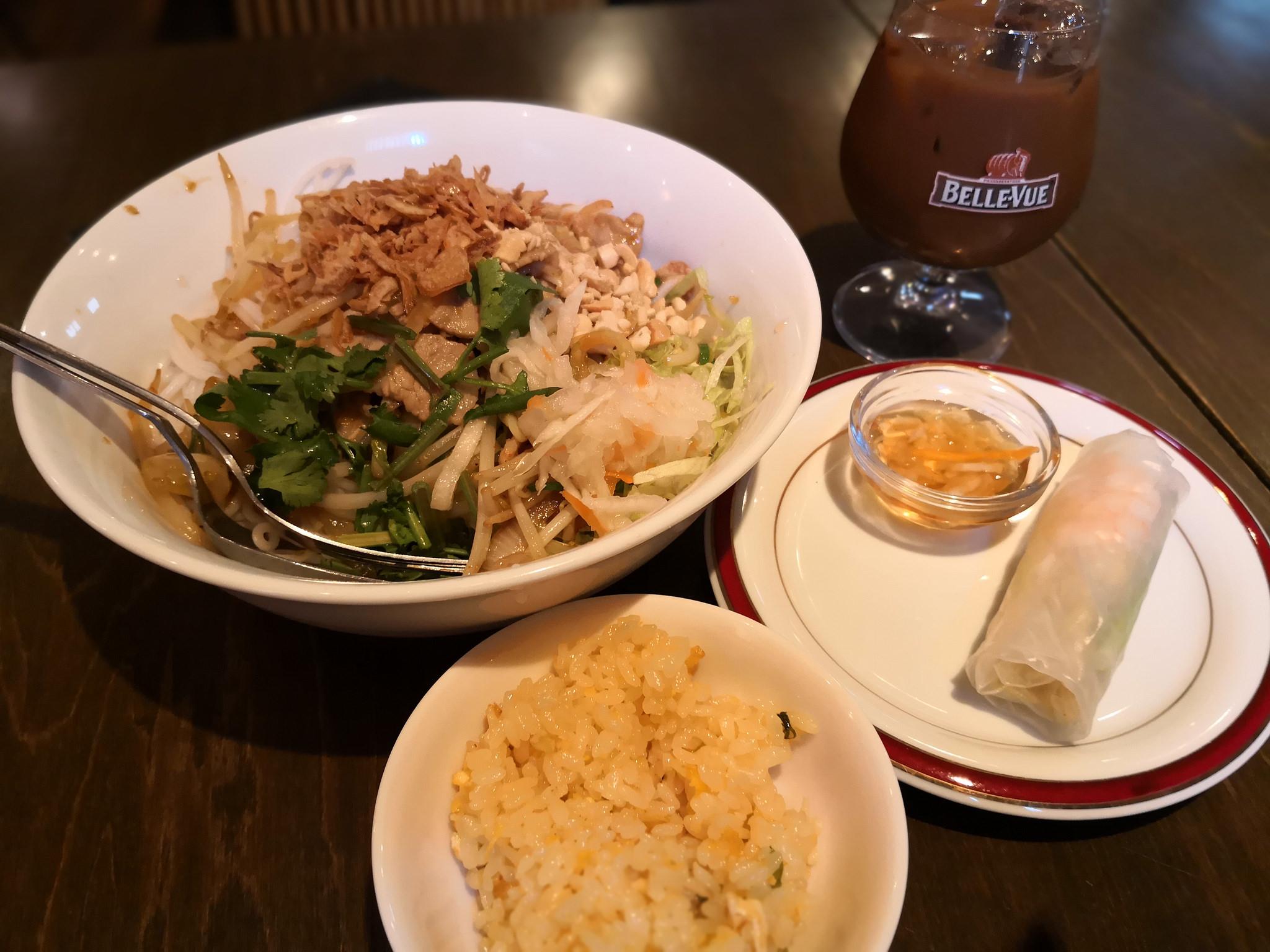 【五反田】サンフラワー@田舎風ベトナム料理のお店。ブン麺セットのランチが充実。