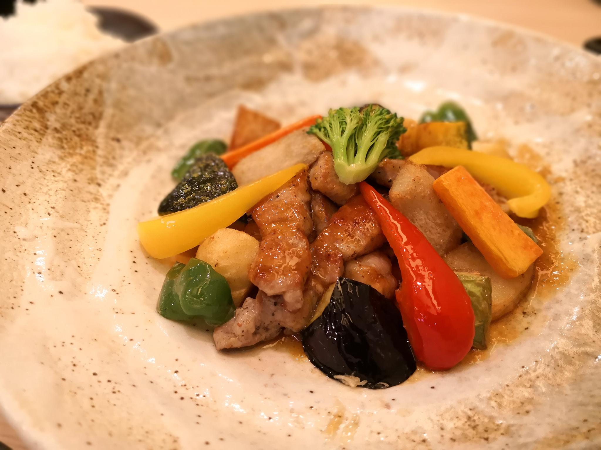 【不動前】菜々笑(ナナエ)@自家製ソースが美味い!野菜にこだわる定食居酒屋さん。
