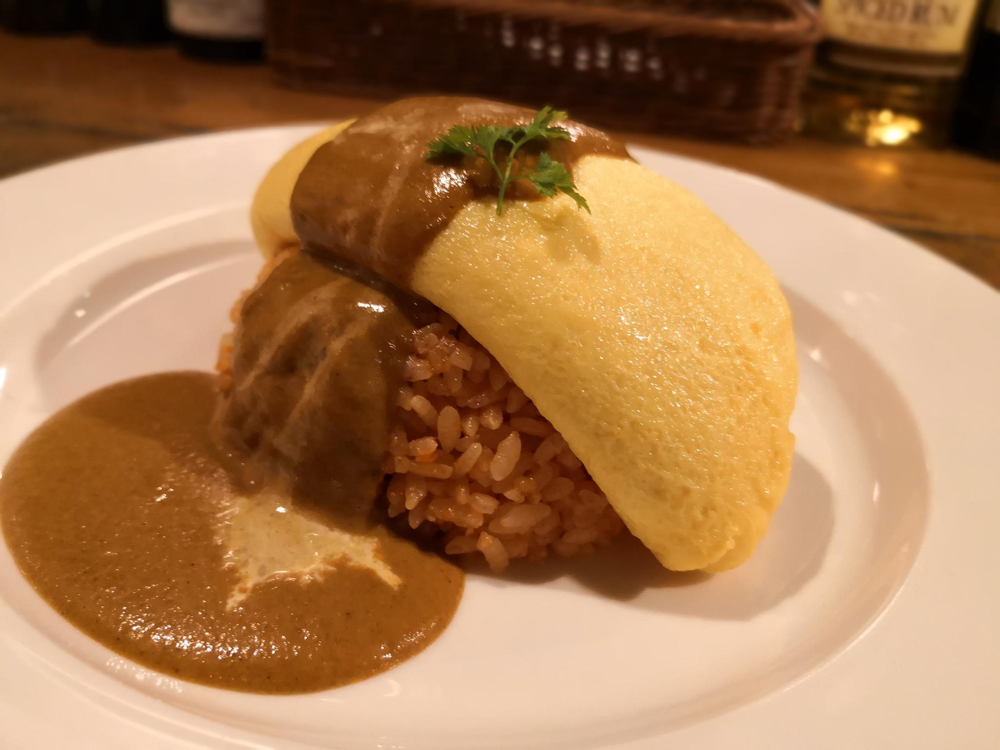 【五反田】エンジェルフェイク レガーメ@3個の卵を使ったふわとろオムライス!優しいお味で食べ疲れなし。