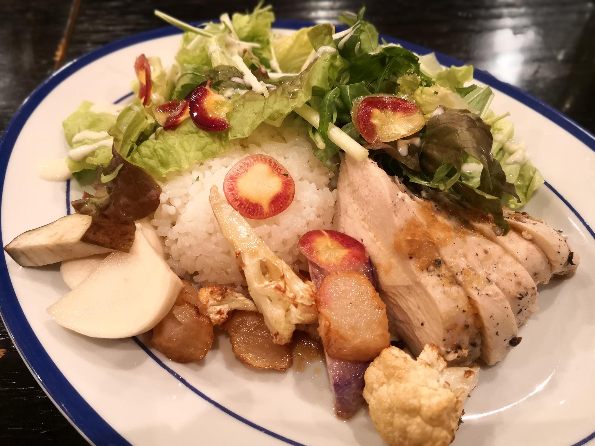 【不動前】ハナファームキッチン MEGURO@野菜が売りのおしゃれ雰囲気のカフェでランチ。