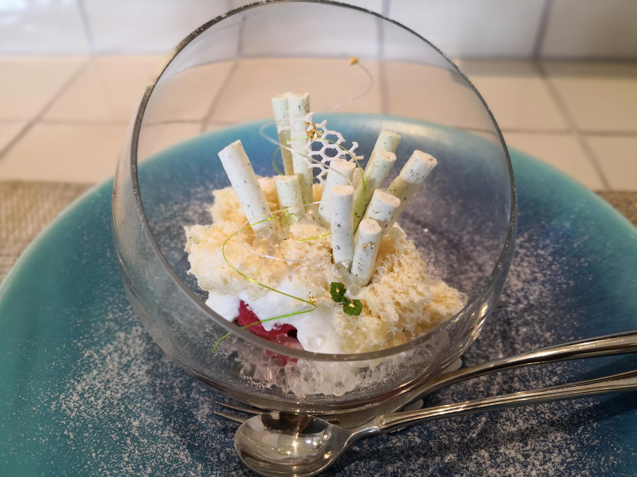 【逗子】デザートカフェ ハチドリ@美しいビジュアルと繊細な味のパフェ。