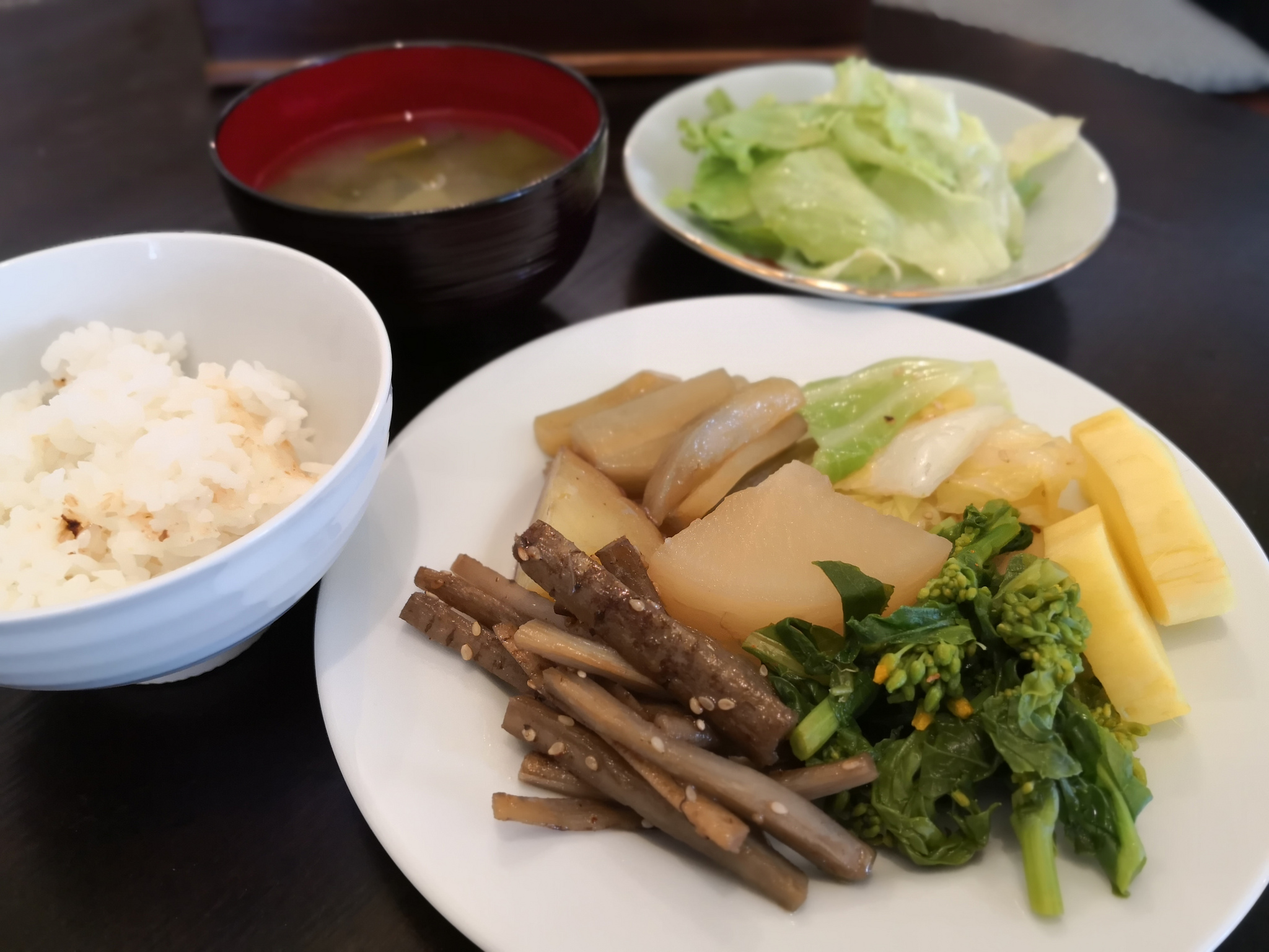 【不動前】とかいなか食堂@農家直送の野菜を使ったお惣菜が食べ放題!体にもお財布にも優しい。